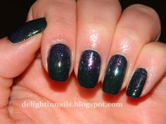 Delight in Nails: 10 Day Holiday Nail Art Challenge: Day 10 - New Year's Eve