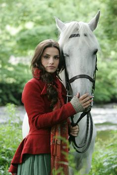 Wuthering Heights (2009) _   Charlotte Riley as Catherine Earnshaw. She will play Arabella Strange in the BBC's adaptation of Jonathan Strange and Mr. Norrell.