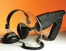 Spying on a neighbor goes Bond with the Spion Orbitor Electronic Listening Devic...