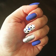 Pin for Later: Celebrate Disneyland's 60th Anniversary With Magical Manicures Abstract Disney