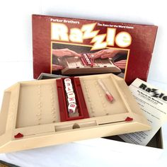 Razzle Vintage Parker Brothers No 112 Complete 1981 Word Game  #ParkerBrothers