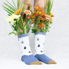 pour la fête des mères oubliez les fleurs, préférez des chaussettes !! Socks, Cotton Socks, High Socks, Flowers, Sock, Stockings, Ankle Socks, Hosiery