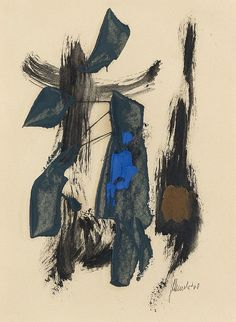 FRITZ WINTER, Untitled, 1960