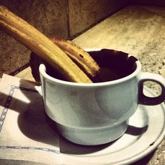 Chocolate con #Churros #TravelShoes