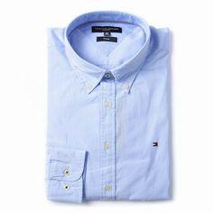 Tommy Hilfiger Striped Long Sleeve Dress Shirts Light blue Free Shipping Long Sleeve Shirt Dress, Dress Shirts, Tommy Hilfiger Shirts, Light Blue, Dresses With Sleeves, Free Shipping, Mens Tops, Fashion, Moda