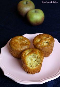Un'idea sfiziosa per la merenda? Provate i muffin vegan alle mele!!