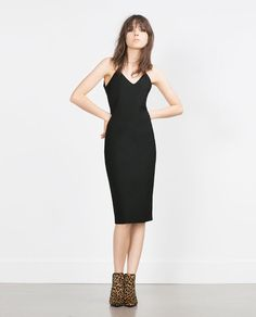 Image 1 of TUBE DRESS WITH STRAPPY BACK from Zara