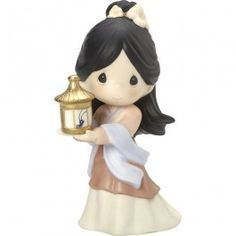 "Disney Showcase Collection, ""I'm So Lucky To Have You"", Bisque Porcelain Figurine, #164041 - Precious Moments"