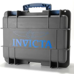 Boxes, Cases & Watch Winders Latest Collection Of New Invicta Neon Blue Glow In Dark 3 Slot Watch Watches Dive Case Impact Box Skillful Manufacture