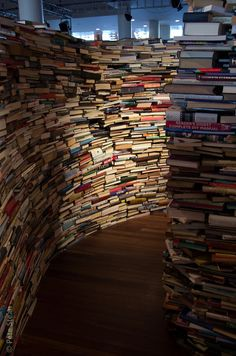 Wow! What an aMAZEing book maze at #London's #Royal #Festival #Hall #UK #Europe || #UK for #kids
