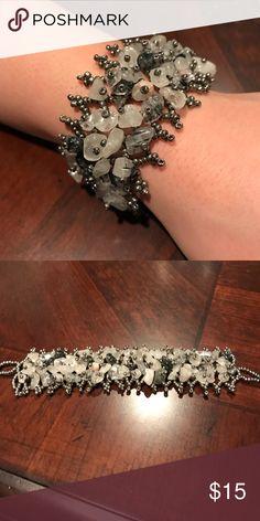 Gray handmade bracelet from Kenya Gray handmade bracelet from Kenya Jewelry Bracelets