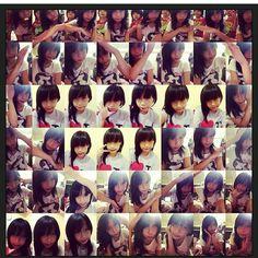 #cute #little #girl #red #heart #lovely :)