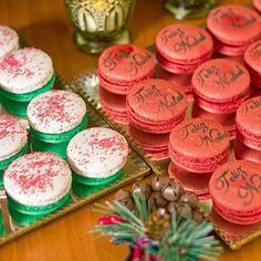 Natal... #maymacarons #macarons #macaronsdecorados #natal2015 #ceiadenatal #festas #nossosmacarons