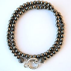 $49 Pyrite Wrap Bracelet now featured on Fab.