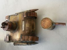 ARTISANAT DE TRANCHEE 14/18 - TANK briquet DE POILUS - WW1- trench art