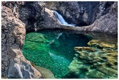 Isle of Skye, Scotland - Fairy pool