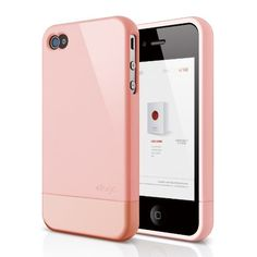 elago S4 Glide Case for AT, Sprint and Verizon iPhone 4/4S (Glossy Lovely Pink) - eco-friendly packaging by elago, http://www.amazon.com/dp/B008R7KRQU/ref=cm_sw_r_pi_dp_A2Ntrb1TPGXCH
