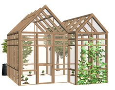 Seasons greenhouse in pirate woods, many thanks to Zero for figuring out the defaults and to Numenor for the wall template. The replacement roofs will look like the original colors until you're done...