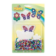 Buy Hama Beads Butterfly Set from our gift range at English Heritage. Butterfly Shape, Flower Shape, Butterfly Ornaments, Buy Toys, English Heritage, Bank Holiday Weekend, Creative Skills, Craft Kits, Hama Beads