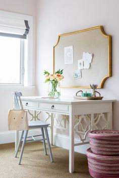 Trends We Love: Pale Neutrals and office space