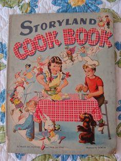vintage  cookbooks   Vintage Children's Cookbooks - I Antique Online
