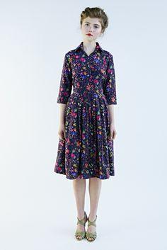 Darjeeling flower dress   Mrs Pomeranz