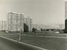 Tower blocks on Castle Vale Estate, 1970 (photograph: Birmingham City Council Public Works Department) Council Estate, City Council, Tower Block, 2nd City, Birmingham Uk, Social Housing, Sense Of Place, Tours, Brutalist