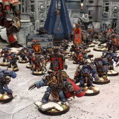 40K SHOWCASE: AMAZING Space Wolves and Astra Militarum | Wargames, Warhammer & Miniatures News: Bell of Lost Souls