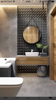 latest stylish bathroom Decoration and Design trends for 2019 Part ; Contemporary Bathroom Designs, Bathroom Tile Designs, Bathroom Design Luxury, Bathroom Design Small, Toilet Tiles Design, Bathroom Decor Sets, Bathroom Styling, Bathroom Ideas, Bathroom Organization