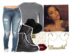 """"""""""" by eazybreezy305 ❤ liked on Polyvore featuring Forever 21, Glamorous, MICHAEL Michael Kors, Zimmermann, Lime Crime, H&M, SimpleOutfits, sweaterweather and Fall2016"""