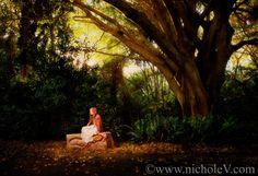 like a fairytale photo from a book