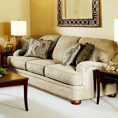 Couch for downstairs - suede - wayfair.com
