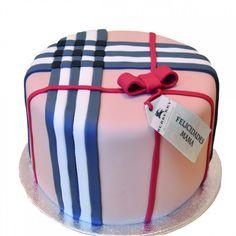 #Tarta Burberry #Cake
