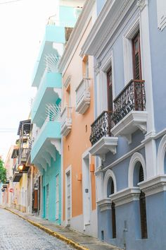 Old San Juan, Puerto Rico (this place is beautiful)