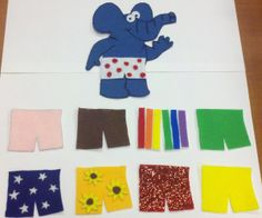If Elephants Wore Pants-Flannel Board Story