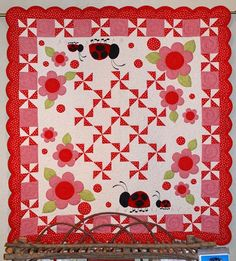 Little Lady Mom & Baby Quilt Pattern from Chitter by Pipersgirls, $16.95