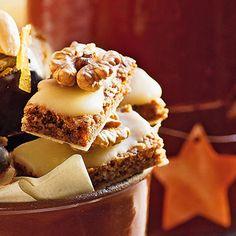Walnuss-Lebkuchenecken Rezept | Küchengötter