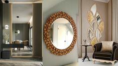 Niekoľko šikovných trikov, ako opticky zväčšiť priestor v byte - Akčné ženy Living Room Mirrors, Living Room Modern, New Furniture, Live, Robot, Decoration, Home Decor, Ideas, Decor