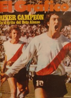 1975 Alonso y Merlo; River Plate Campeon