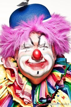 http://WhoLovesYou.ME | #clowns One of my earlier transformations of Hitch…