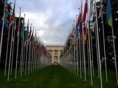 Visited Geneva, Switzerland (feat. the UN)