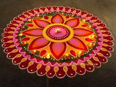 Best Rangoli Designs for Diwali. Get the latest and beautiful images and designs here on happy Shappy Best Rangoli Design, Indian Rangoli Designs, Simple Rangoli Designs Images, Rangoli Designs Latest, Rangoli Designs Flower, Free Hand Rangoli Design, Small Rangoli Design, Rangoli Patterns, Rangoli Ideas