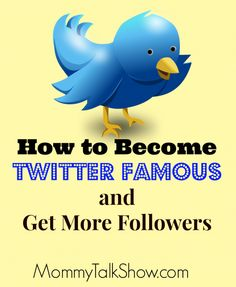 How to Become Famous and Get Marketing Topics, Facebook Marketing, Social Media Marketing, Marketing Models, Get Twitter Followers, Get More Followers, Social Media Software, Social Media Tips, Twitter For Business