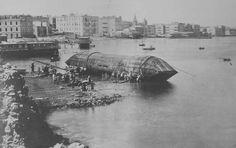 Cleopatra's Needle leaving Alexandria. 1887.