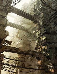 Dystopian architecture