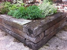 http://www.railwaysleepers.com/projects/raised-beds-with-railway-sleepers/castle-rising-raised-beds