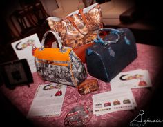 Aspasia Design Bags! Completely made in Italy.