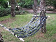 Duct Tape Hammock | 31 Redneck DIYs That Are BorderlineGenius