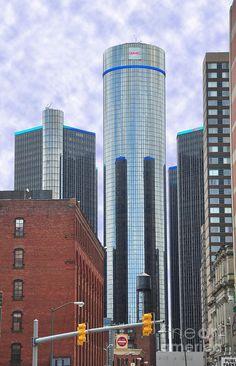 ✯ Renaisance Center - Detroit, MI