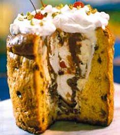 Pan Dulce relleno de helado Plum Cake, Wonderful Recipe, Dried Fruit, Cookies And Cream, Holiday Festival, Biscotti, Banana Bread, Muffin, Yummy Food